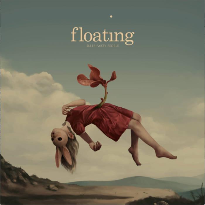 floating sleep party people