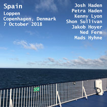 Spain Loppen Copenhagen, Denmark 7 October 2018 With Petra Haden, Ned Ferm & Mads Hyhne cover art