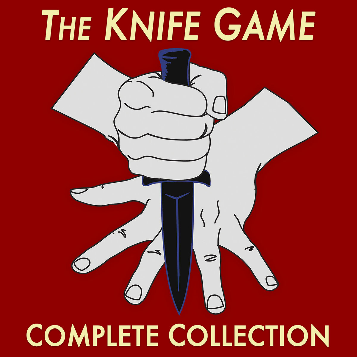 The Christmas Knife Game Song INSTRUMENTAL | Rusty Cage
