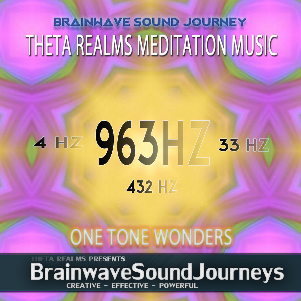 963 HZ | SPIRIT FLUTES - 4 HZ THETA MEDITATION MUSIC | Theta