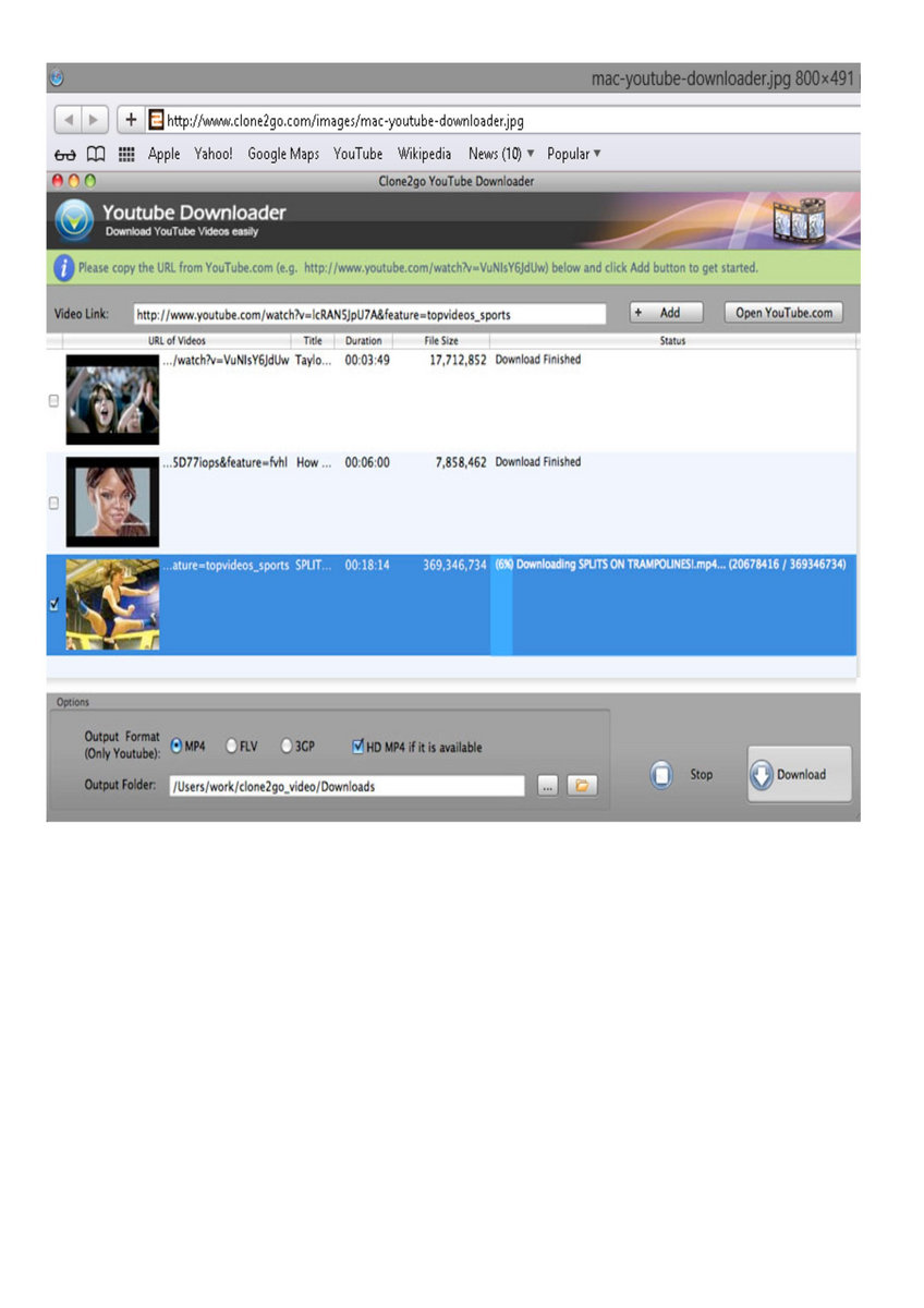 Youtube video downloader software for pc.