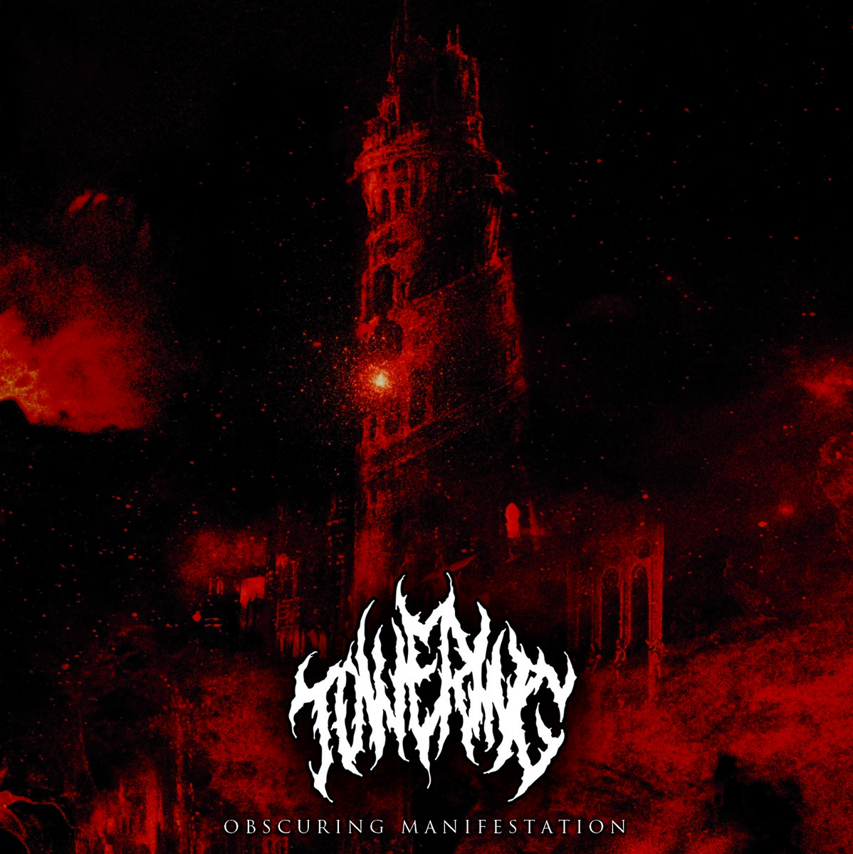 towering obscuring manifestation black death metal france le scribe du rock