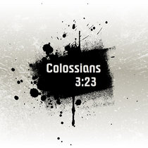 Colossians 3:23 cover art
