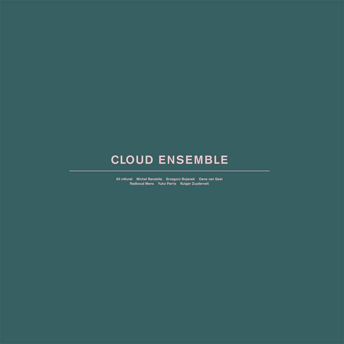 """Cloud Ensemble - 12"""" vinyl EP cover art"""