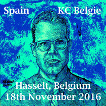 Spain At KC Belgie 18 November 2016 Hasselt, Belgium cover art