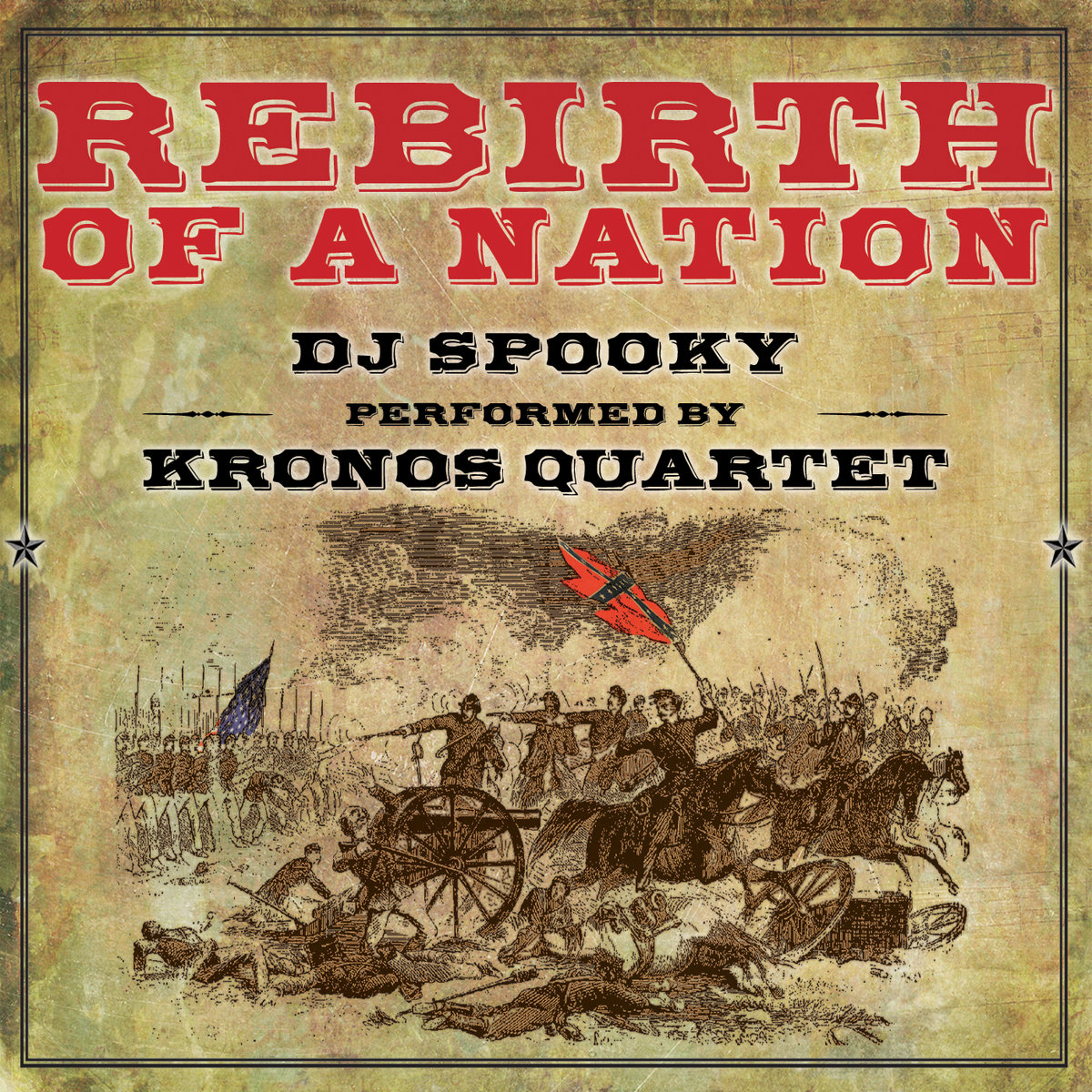 The Most Dangerous Woman In America  Cantaloupe Music From Rebirth Of A Nation By Dj Spooky W Kronos Quartet