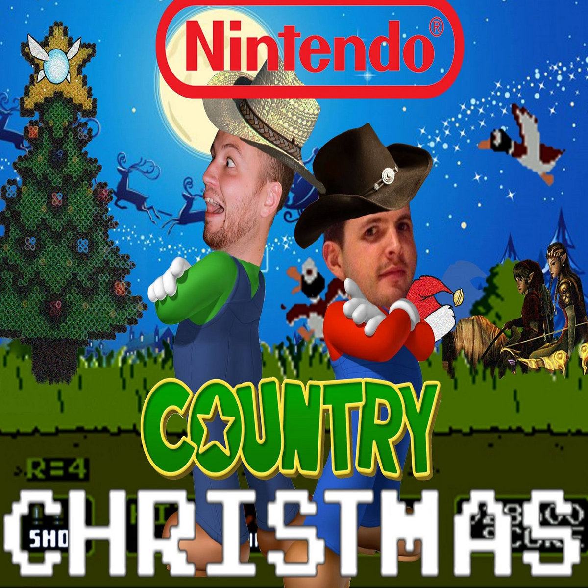 Nintendo Country Christmas   2 Dudes and a NES