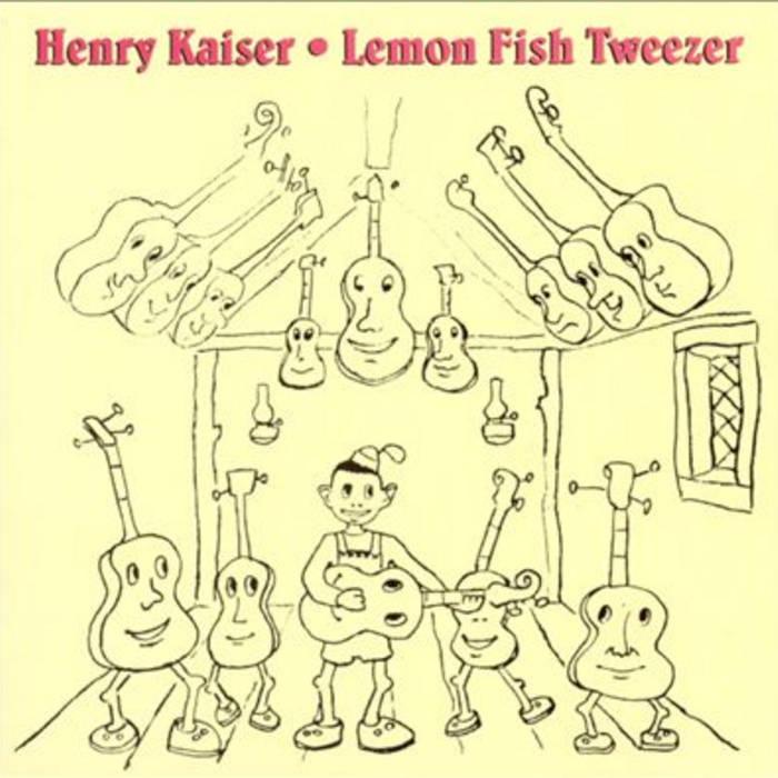 Lemon Fish Tweezer cover art
