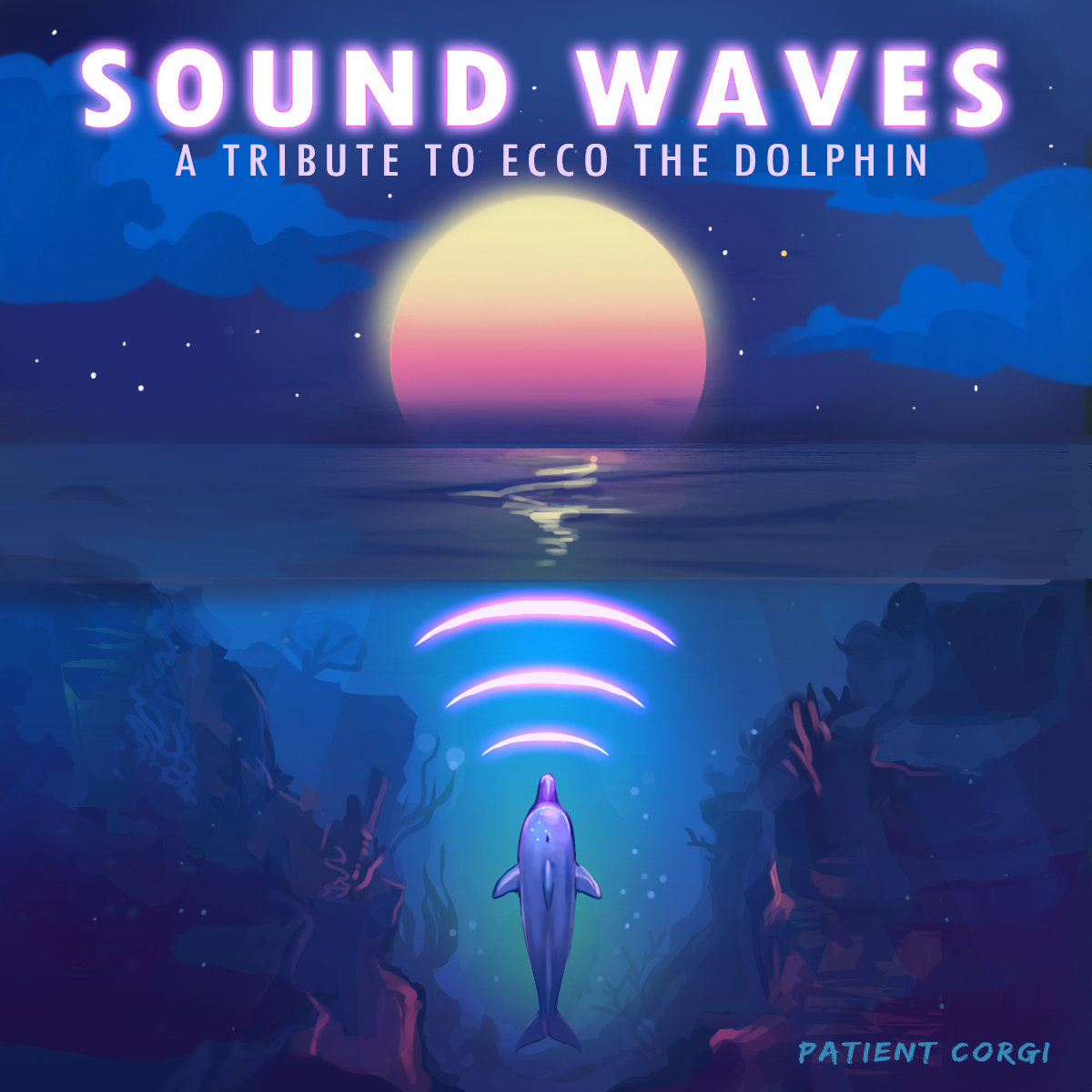 b25f3a3f8507 from SOUND WAVES  A Tribute to Ecco the Dolphin by Patient Corgi