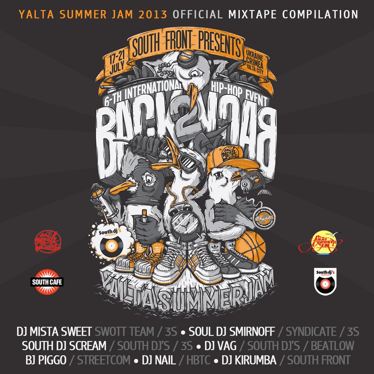 Yalta Summer Jam 2013 (official mixtape) | Vagskee (Dj Vag)