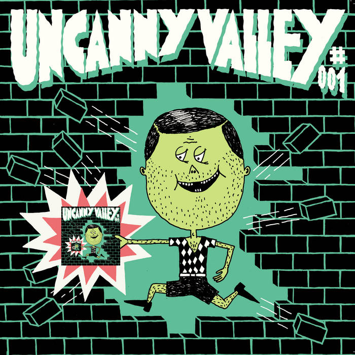 Uncanny Valley 001 cover art