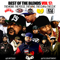 BEST OF THE BLENDS VOL 17: THE MOBB,THE POSSE,THE GANG,THE CLAN & THE CLIK cover art