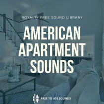 Apartment Sounds Room Tone Doors Kitchen Bathroom & Dining Room Sound Effects cover art