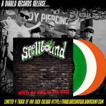 "Spellbound ""Write my name on the wall"" cover art"