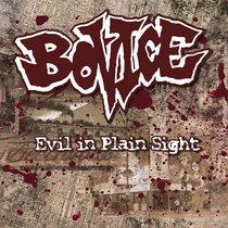 """Bovice - """"Evil In Plain Sight"""" cover art"""