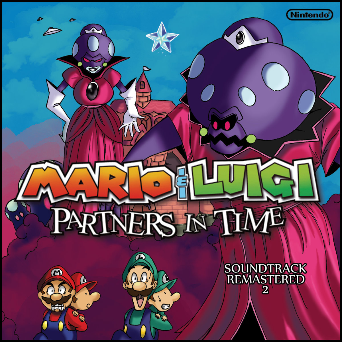 Mario Luigi Partners In Time Soundtrack Remastered 2