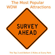 WDW Survey Results: The Top 3 and Bottom 3 Rides at Every Park cover art