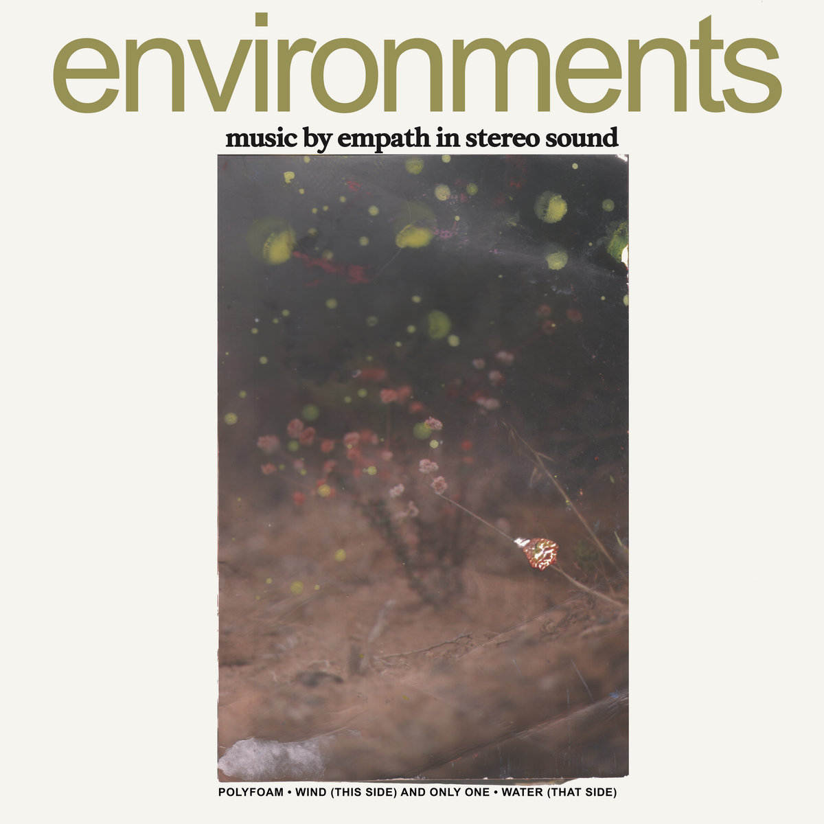 Environments | Get Better Records