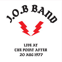Live at the Point After - 20 Aug 1977 cover art