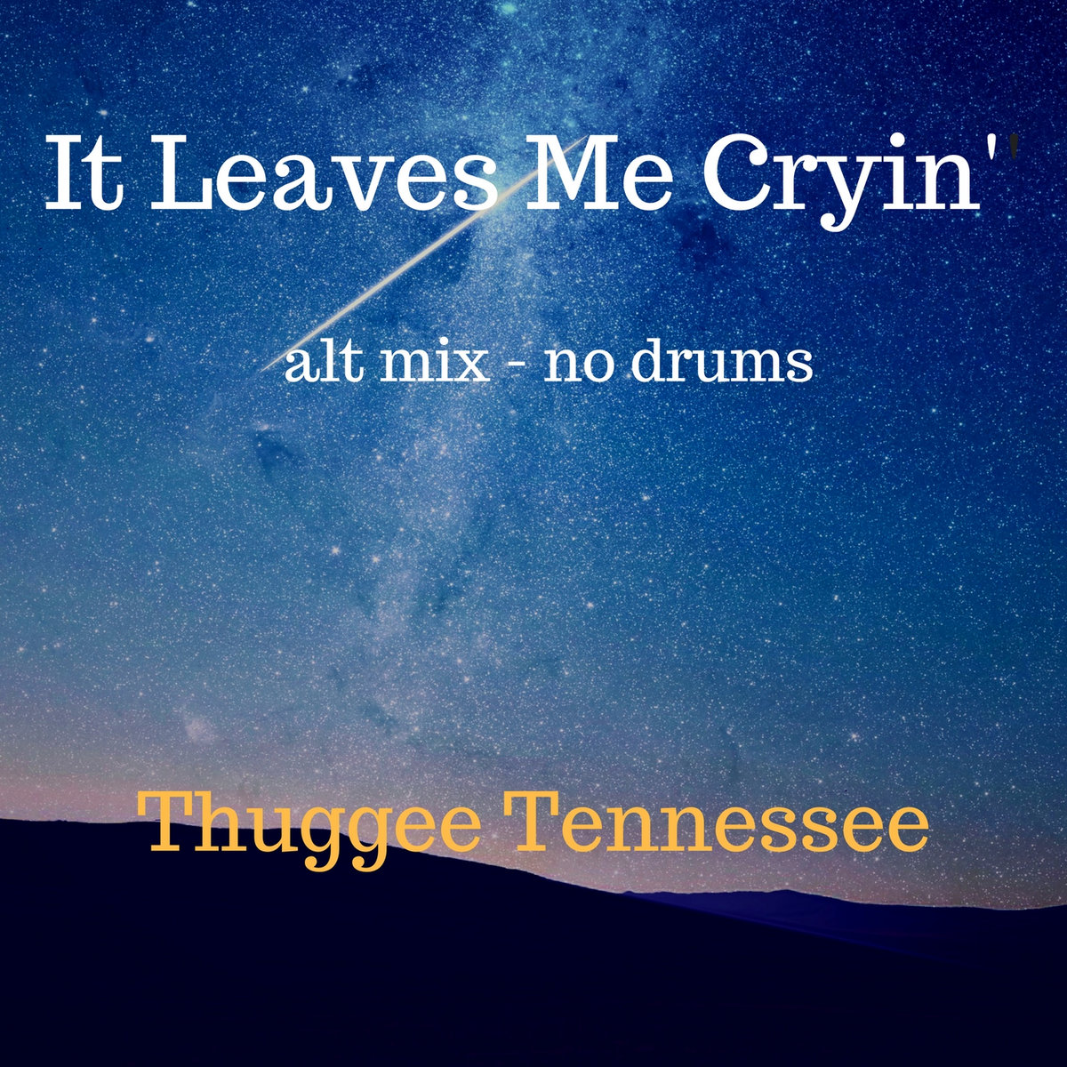 It Leaves Me Cryin' (alt mix - no drums) - FREE DOWNLOAD by Thuggee Tennessee