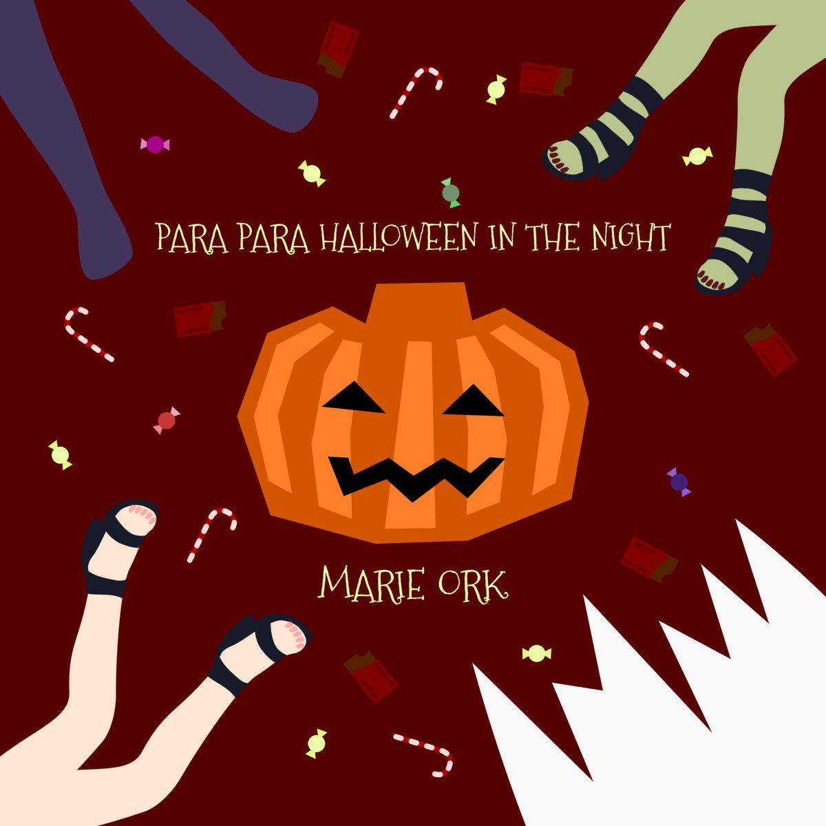 PARA PARA HALLOWEEN IN THE NIGHT (Instrumental) | aoya128