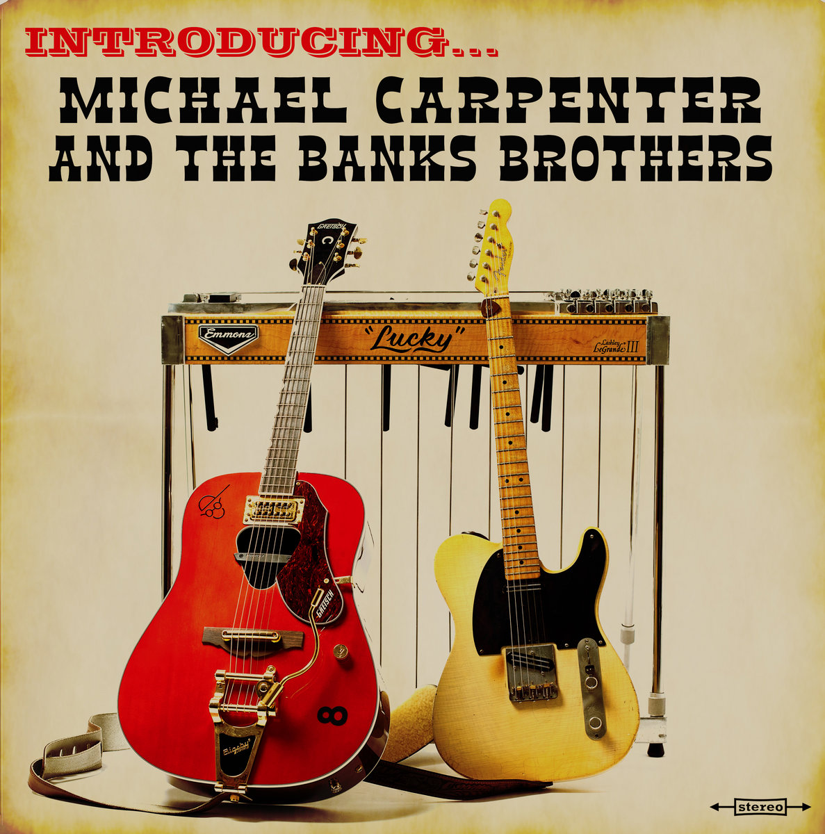 Introducing... (Vinyl and CD only) | Michael Carpenter and The Banks  Brothers | Big Radio Records