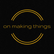 36: on making things cover art