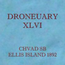 Droneuary XLVI - Ellis Island 1892 cover art
