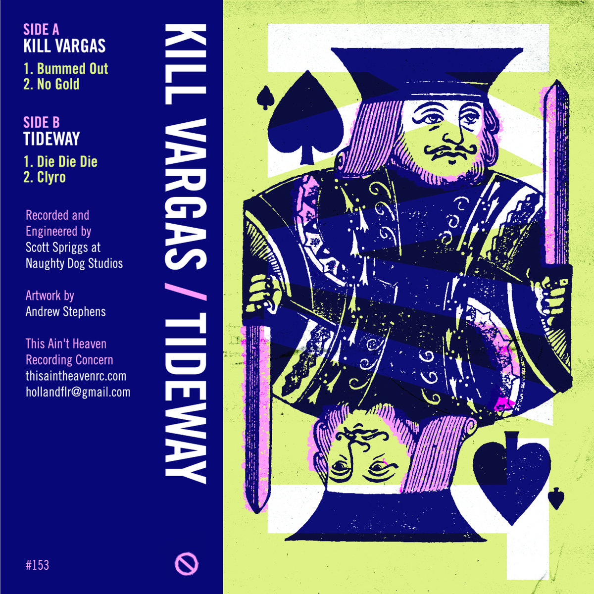 Kill Vargas Bummed Out This Aint Heaven Recording Concern Bargaz Dark Blue From Split Tahrc 153 By Tideway