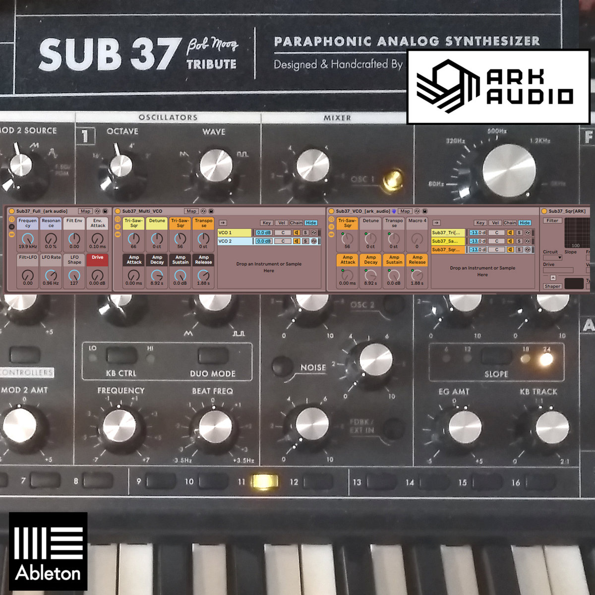 synth instruments for ableton