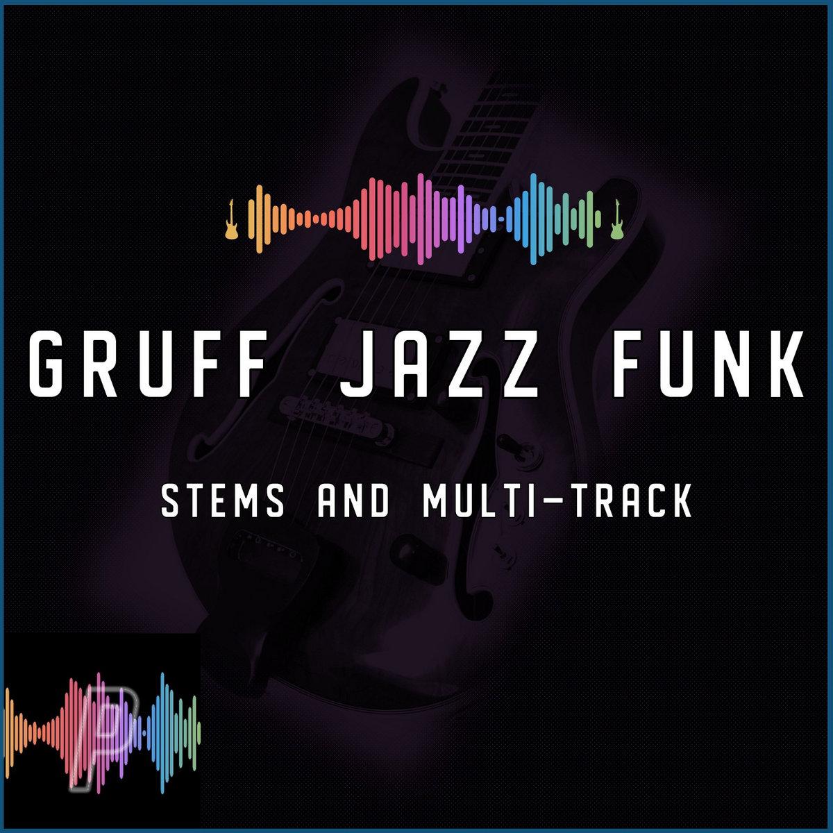 Gruff Jazz Funk in E Dorian at 110 BPM Stems and Multi-Tracks