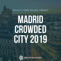 Madrid City Sounds   Crowded Places 2019 cover art