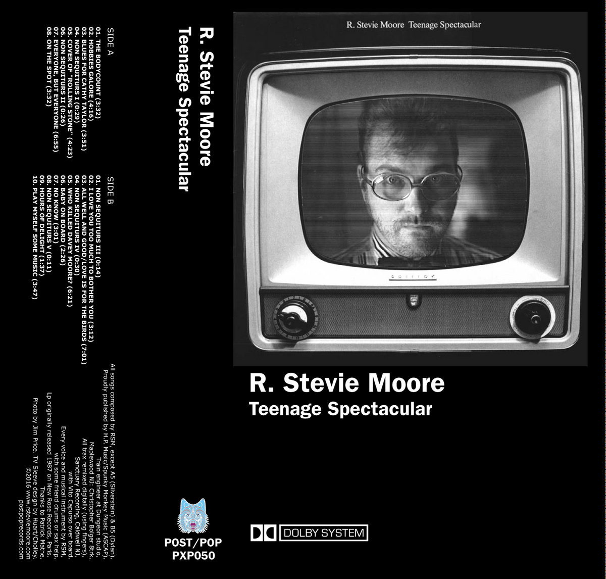 R. STEVIE MOORE - TEENAGE SPECTACULAR (PXP050)