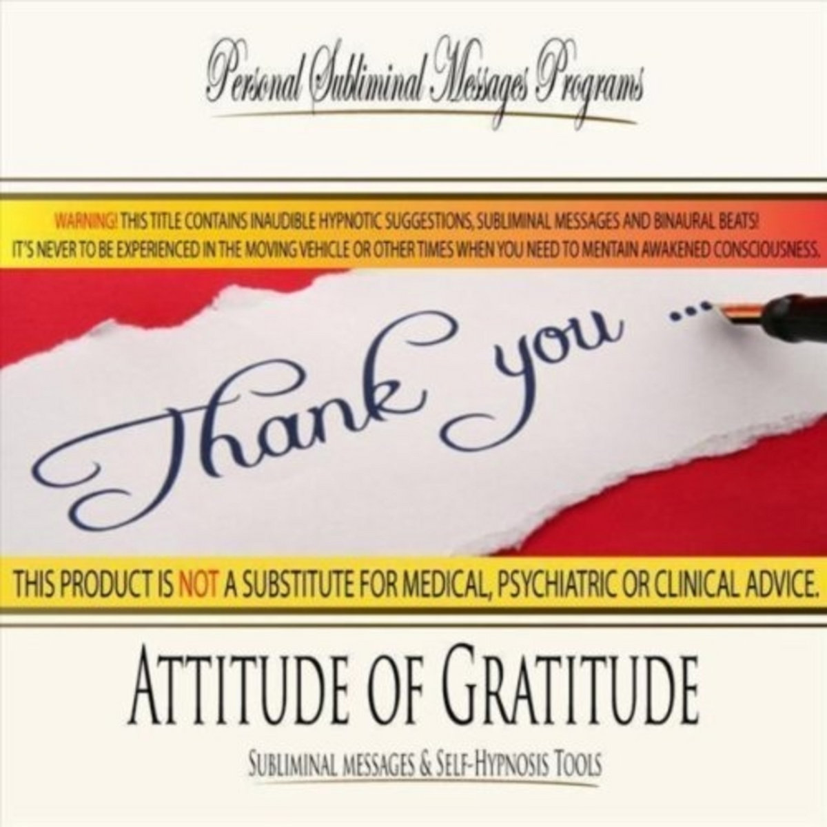 Attitude of Gratitude - Subliminal Messages | Personal Subliminal