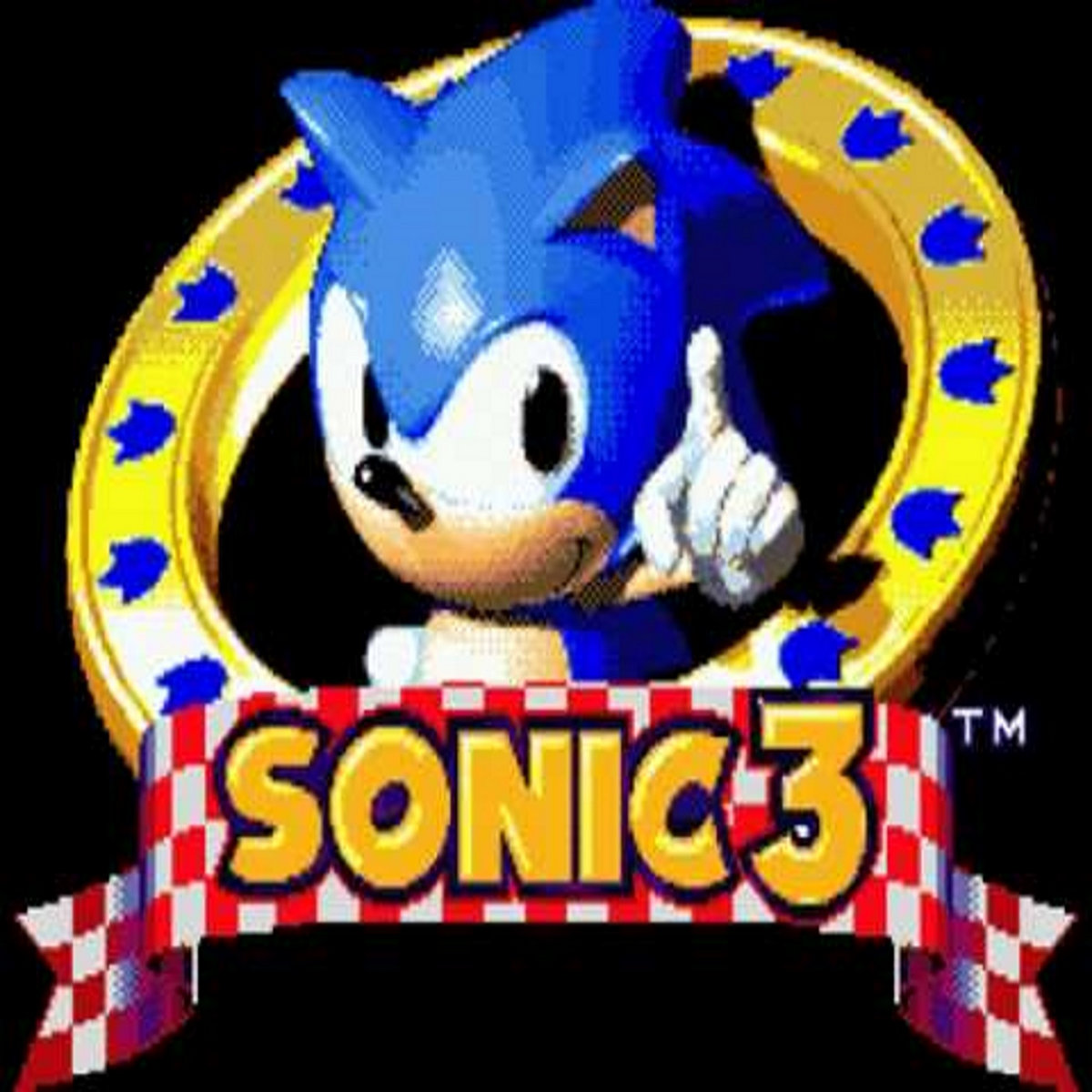 Sonic 3 Title Screen Sonic Complete