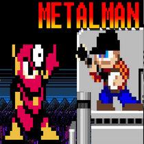Mega Man 2 - Metal Man cover art
