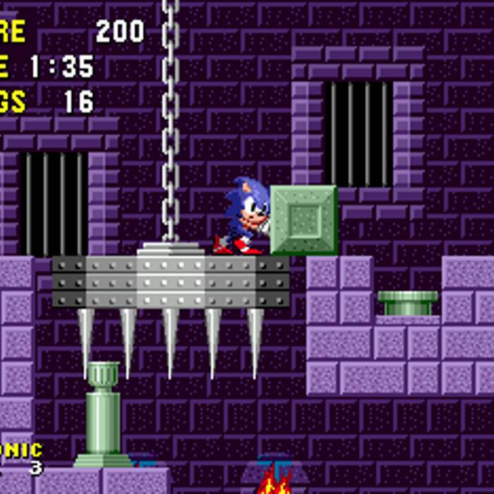 Sonic The Hedgehog Genesis Marble Zone Remix Diamond Nefertari G