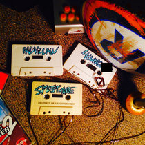 RADVILLAIN x 4LUNG SPLIT TAPE PROPERTY OF U.S. GOVERNMENT cover art