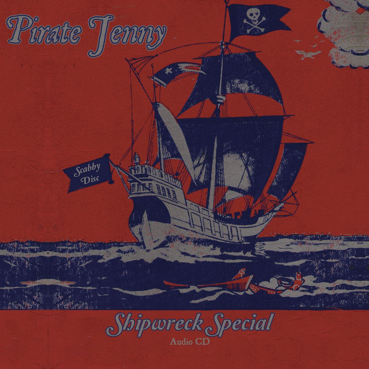 Pirate Jenny Shipwreck Special CD