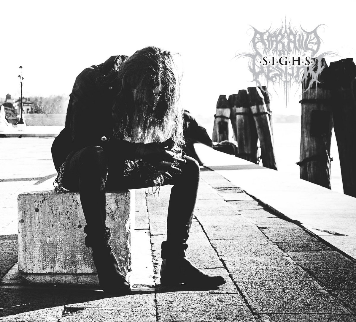 afrait of destiny sighs black metal italy le scribe du rock