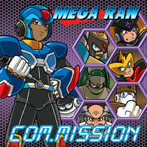 Mega Ran Com: Mission cover art