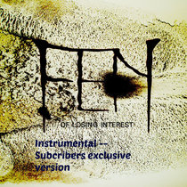 Of Losing Interest - Instrumental Subscribers Exclusive cover art