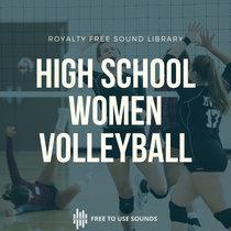 Volleyball Sounds Women High School Team Indoor Training Sound Effects cover art