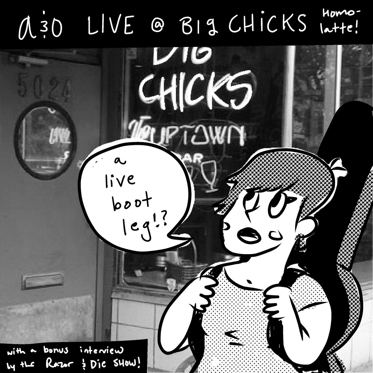 live! at big chicks! | ashby and the oceanns