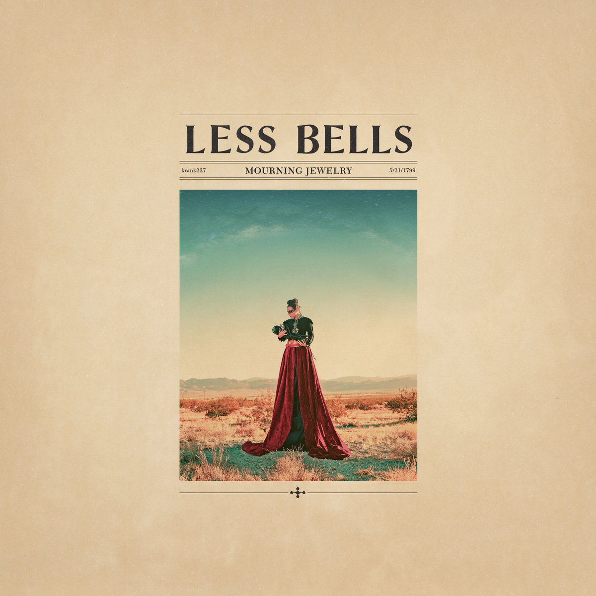 Cover of Less Bells - Mourning Jewelry