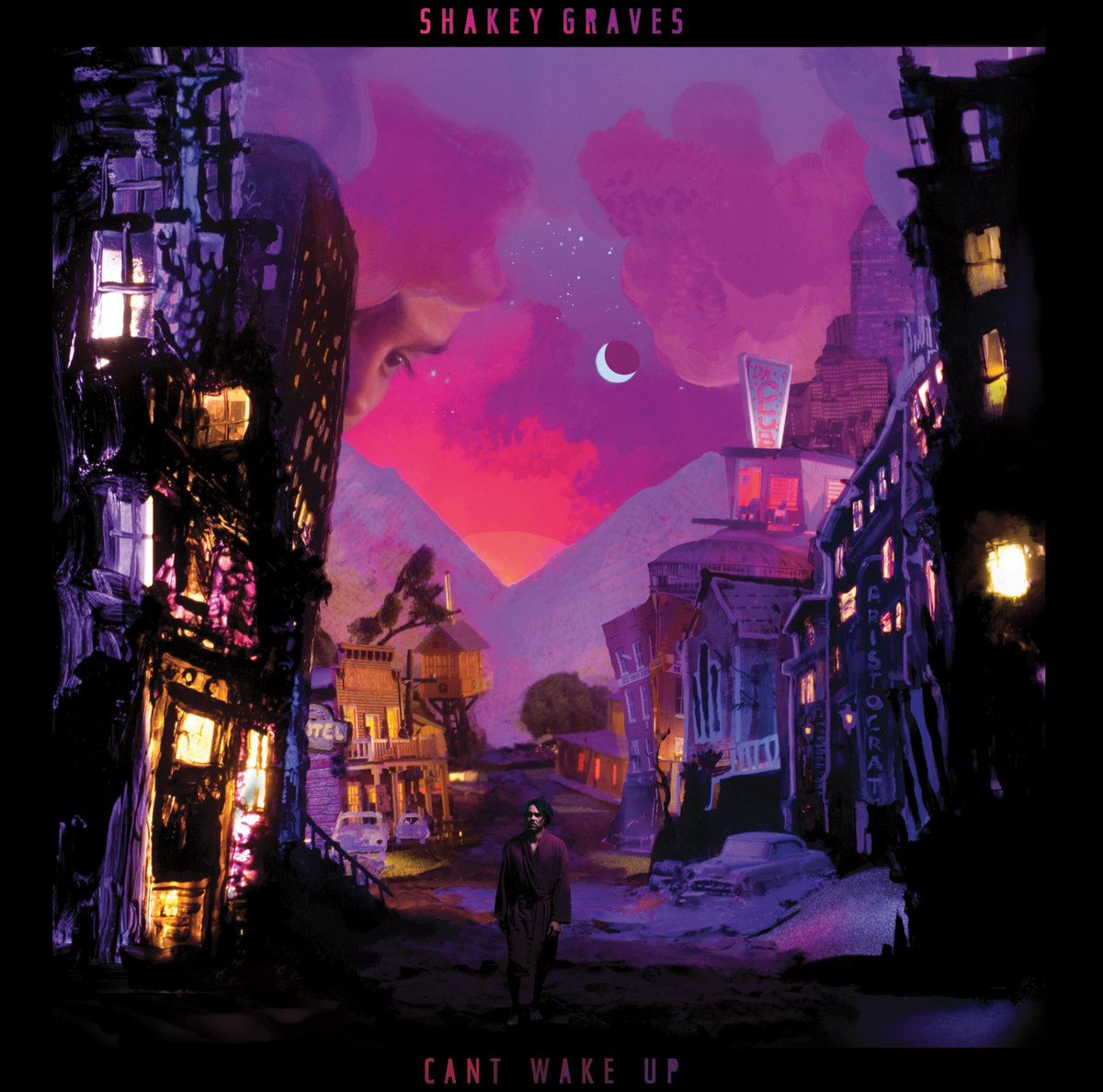 Image result for SHAKEY GRAVES: CAN'T WAKE UP