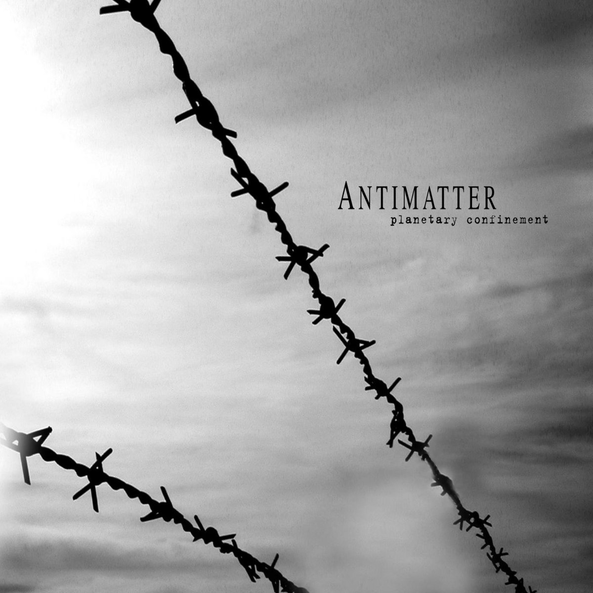 antimatter planetary confinement