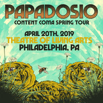 4.20.19 | Theatre of Living Arts | Philadelphia, PA cover art