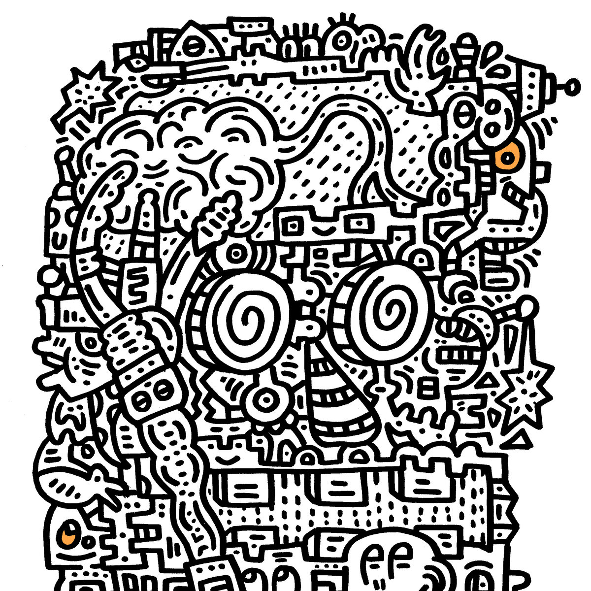 From Doodle Brain By Mr