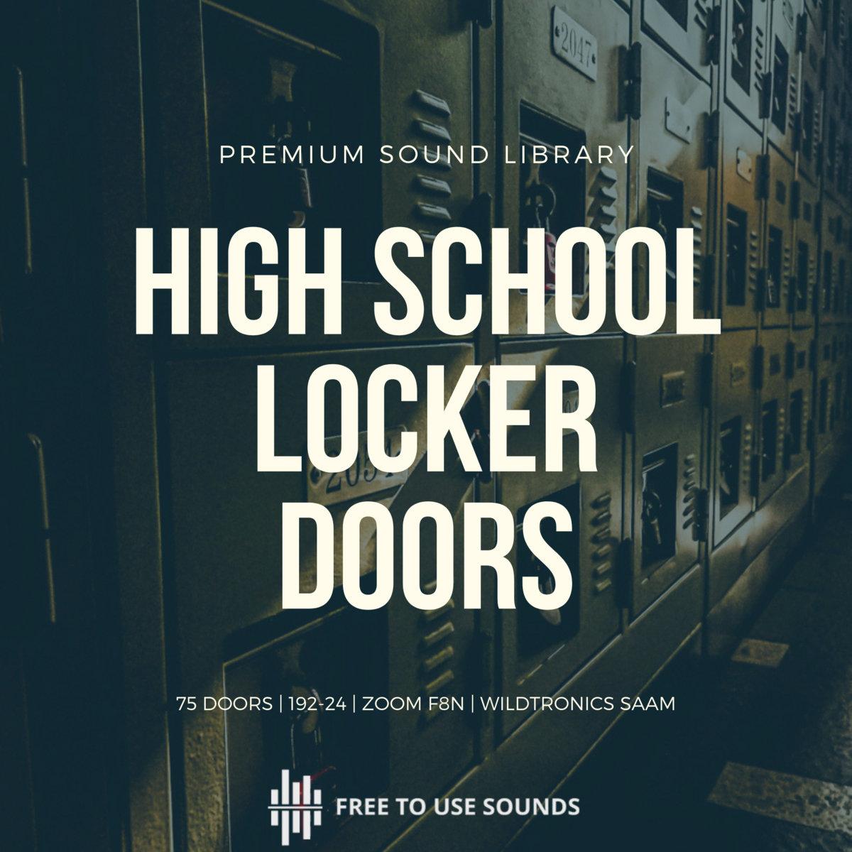 School Locker Door Sounds Open Closing Freetousesounds